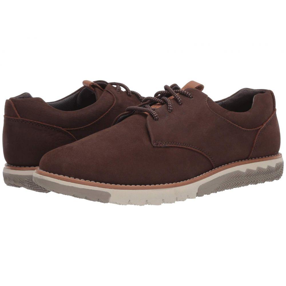 ハッシュパピー Hush Puppies メンズ 革靴・ビジネスシューズ レースアップ シューズ・靴【Expert PT Lace-Up】Dark Brown Nubuck
