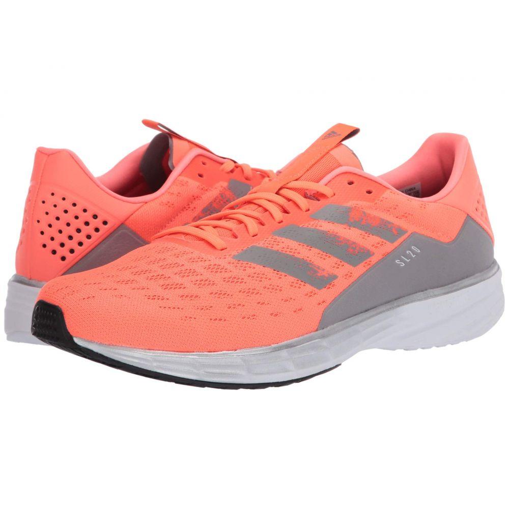 アディダス adidas Running メンズ ランニング・ウォーキング シューズ・靴【SL20】Signal Coral/Dove Grey/Core Black