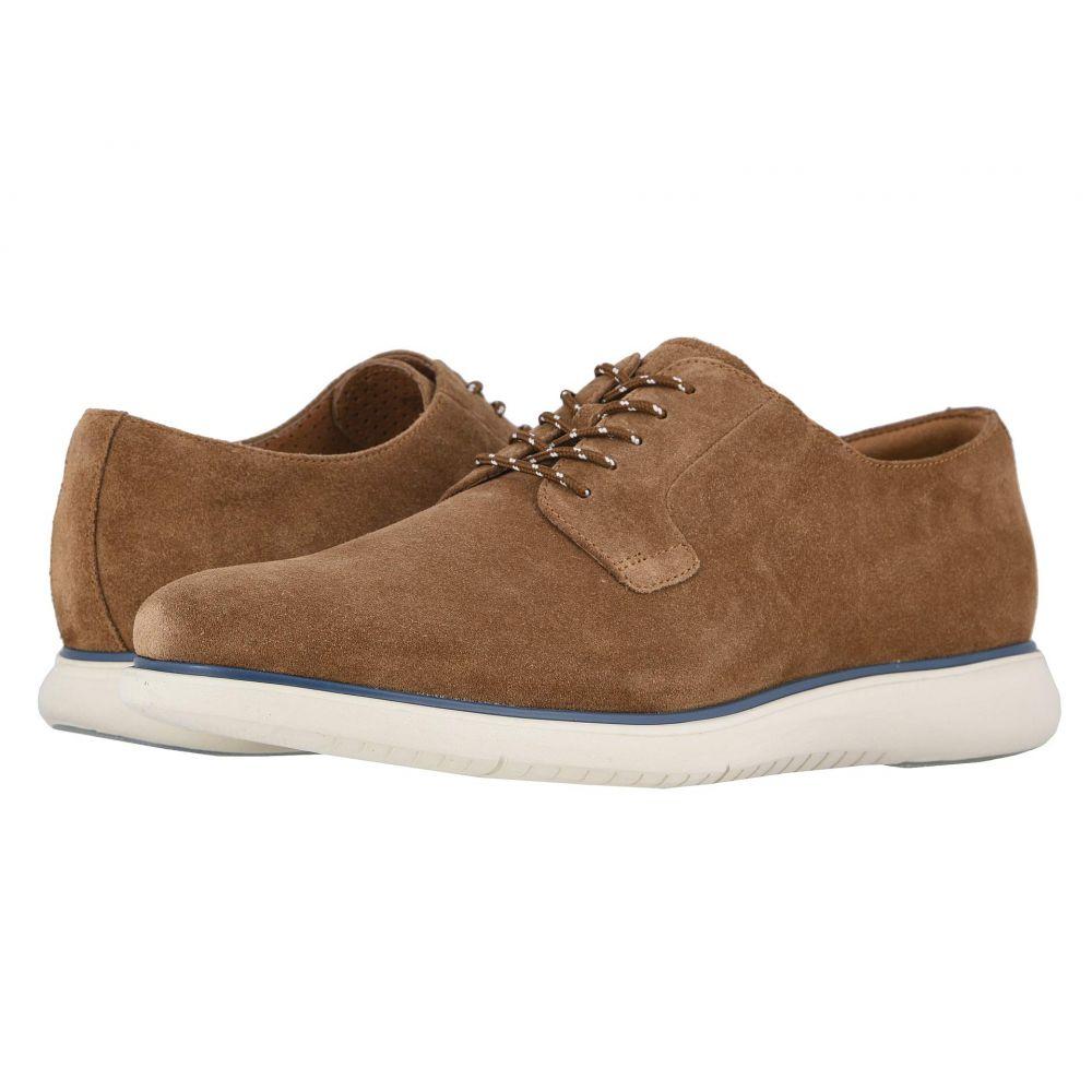 フローシャイム Florsheim メンズ 革靴・ビジネスシューズ シューズ・靴【Fuel Plain Toe Oxford II】Mocha Suede/White Sole