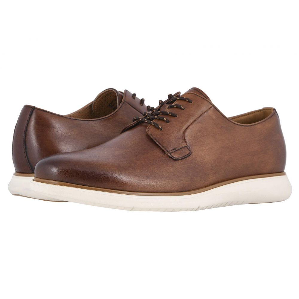 フローシャイム Florsheim メンズ 革靴・ビジネスシューズ シューズ・靴【Fuel Plain Toe Oxford II】Scotch Smooth/White Sole