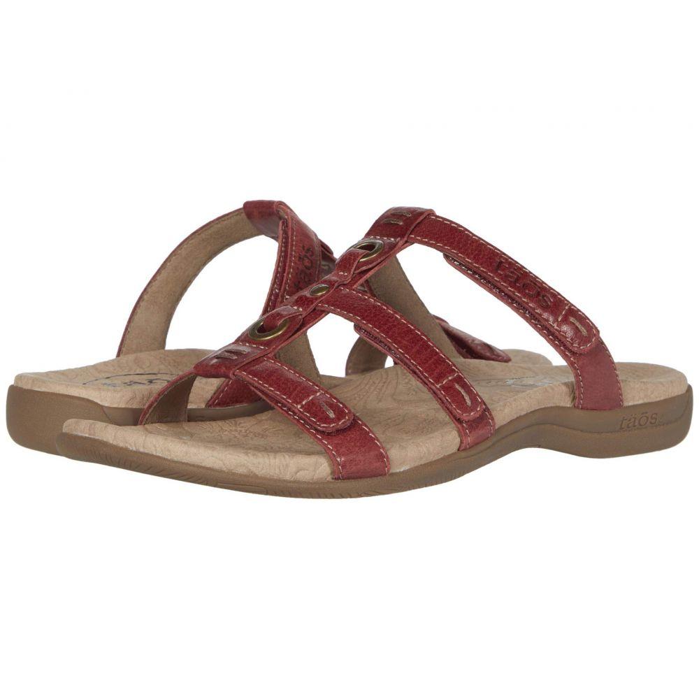 タオス Taos Footwear レディース サンダル・ミュール シューズ・靴【Nifty】Red