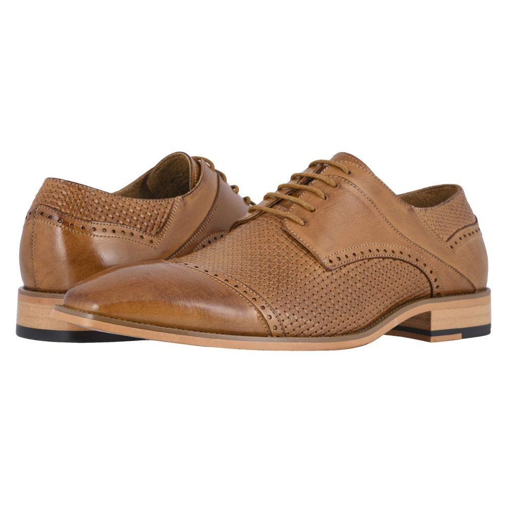 ステイシー アダムス Stacy Adams メンズ 革靴・ビジネスシューズ シューズ・靴【Vilas Cap Toe Oxford】Tan