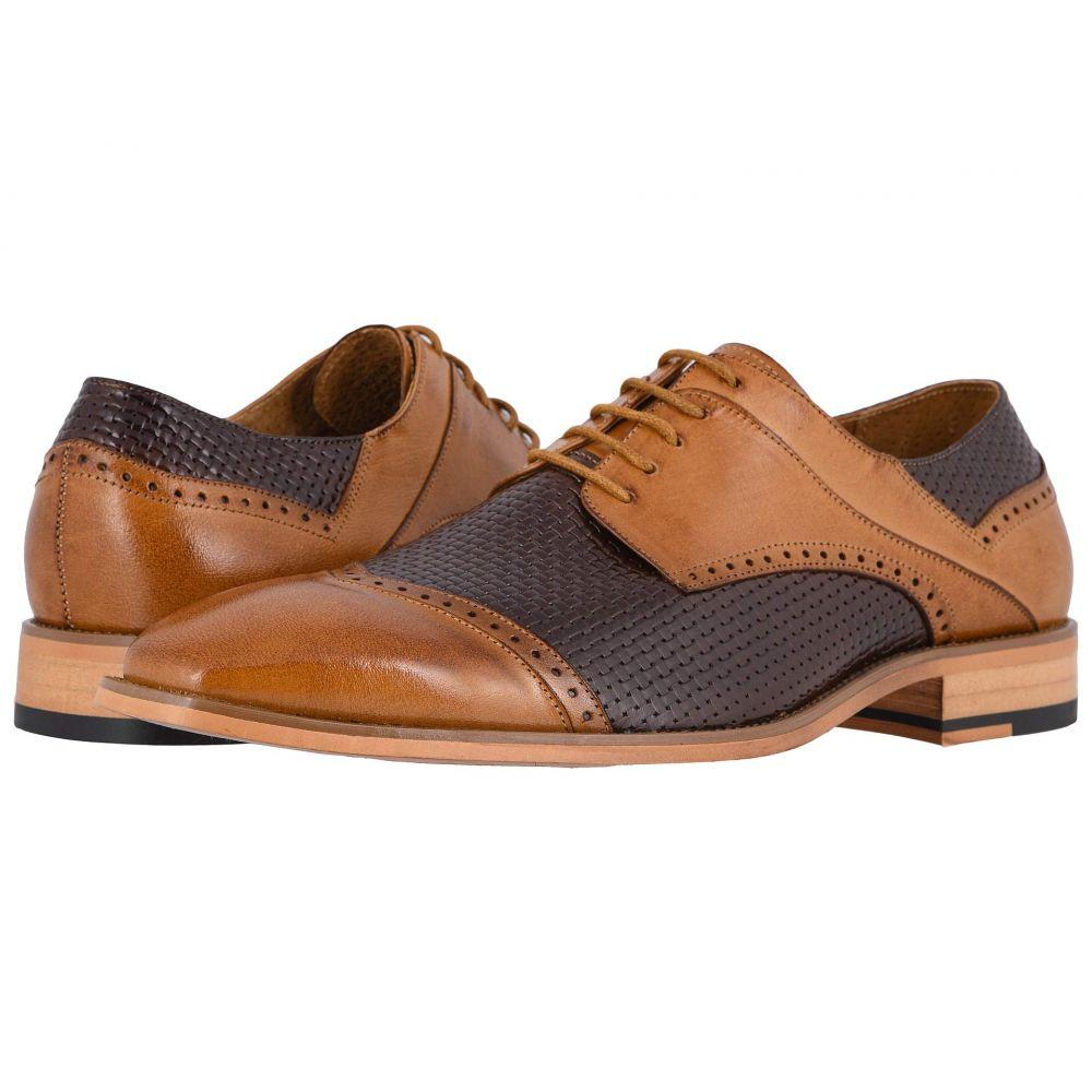 ステイシー アダムス Stacy Adams メンズ 革靴・ビジネスシューズ シューズ・靴【Vilas Cap Toe Oxford】Tan/Brown
