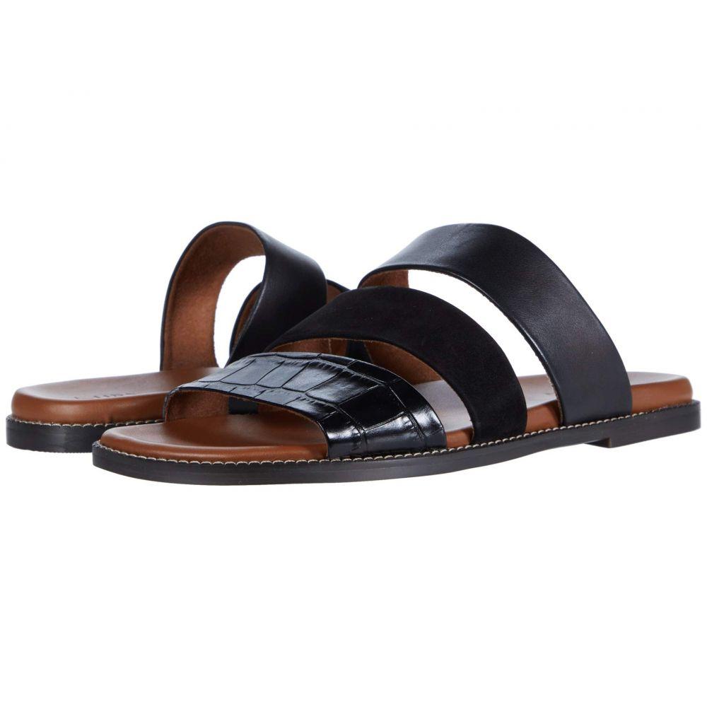 ナチュラライザー Naturalizer レディース サンダル・ミュール シューズ・靴【Kellie】Black Croco/Nubuck Leather