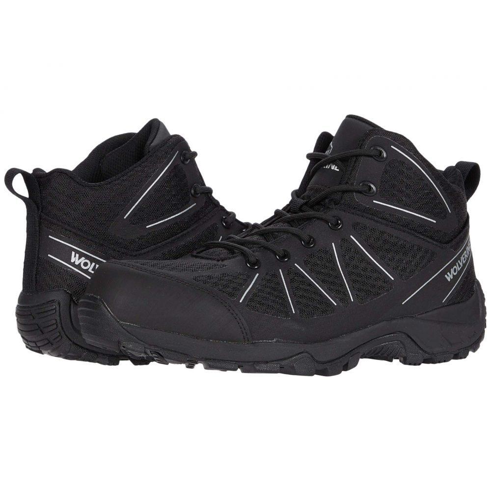 ウルヴァリン Wolverine メンズ ブーツ ワークブーツ シューズ・靴【Amherst II CarbonMAX Work Boot】Black