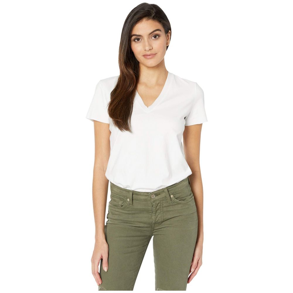 コマンドー Commando レディース ボディースーツ インナー・下着【Essential Cotton Bodysuit Tee BDS124】White