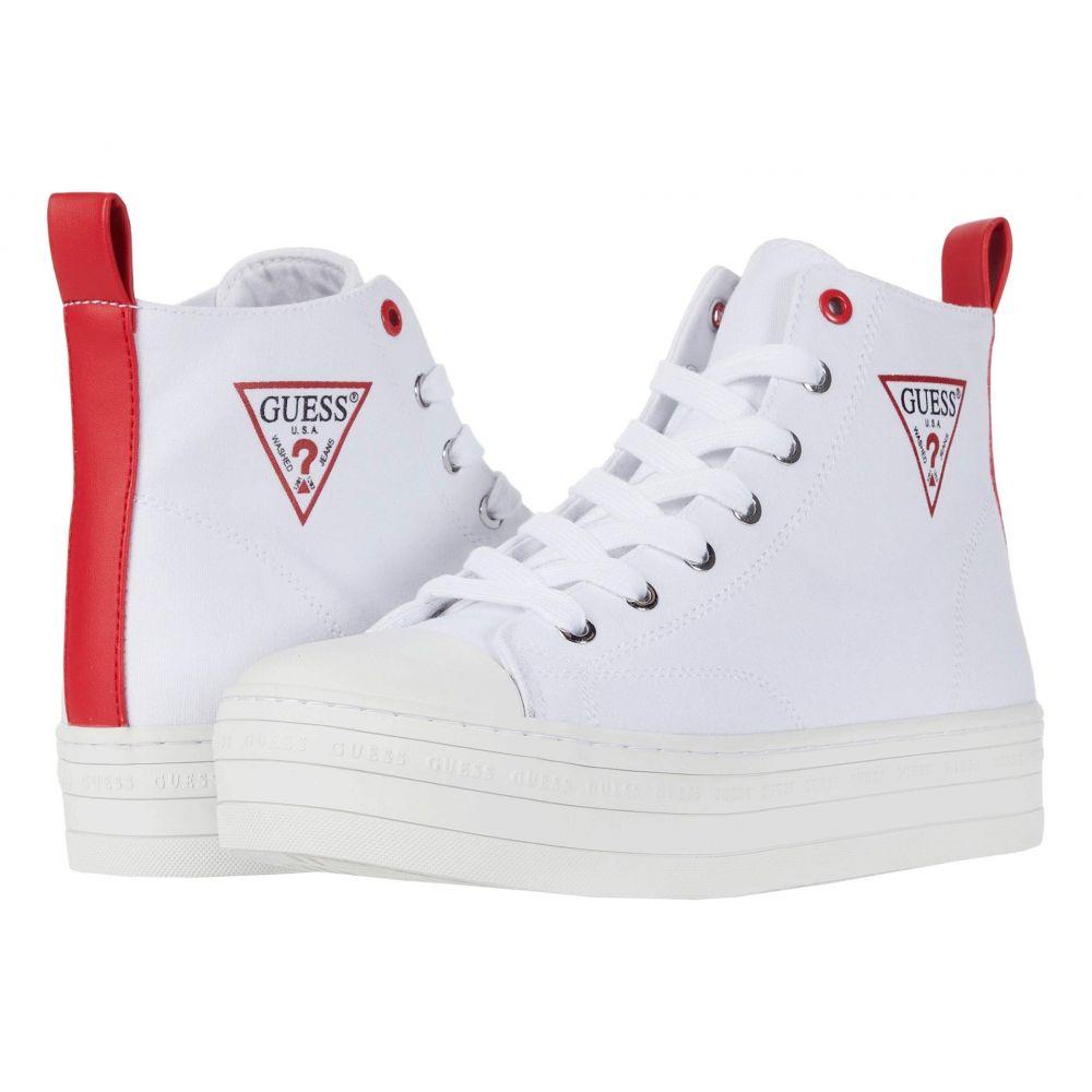 ゲス GUESS レディース スニーカー シューズ・靴【Bokan】White