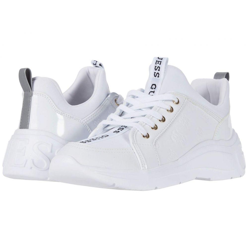 ゲス GUESS レディース スニーカー シューズ・靴【Speerit】White