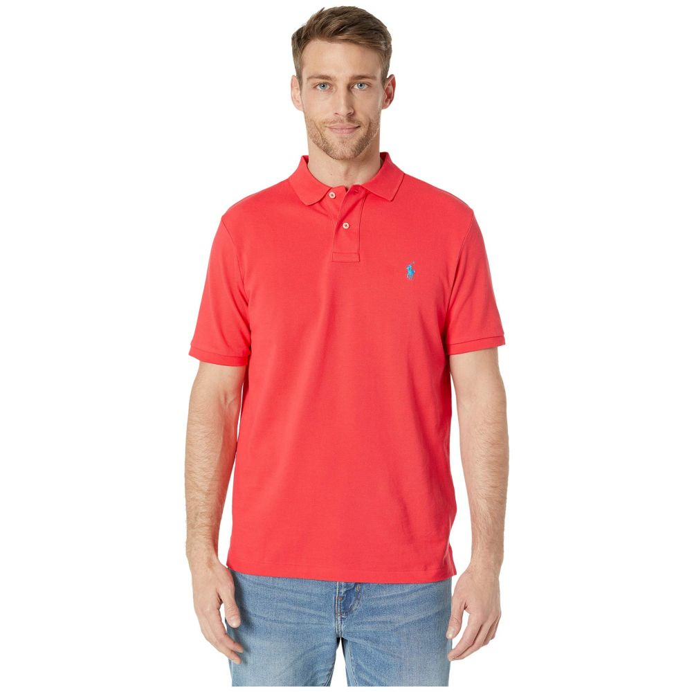 ラルフ ローレン Polo Ralph Lauren メンズ ポロシャツ トップス【Classic Fit Mesh Polo】Racing Red