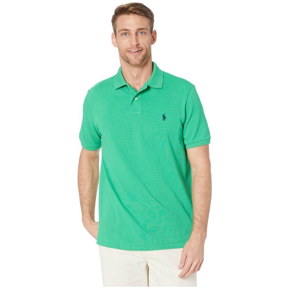ラルフ ローレン Polo Ralph Lauren メンズ ポロシャツ トップス【Classic Fit Mesh Polo】Green