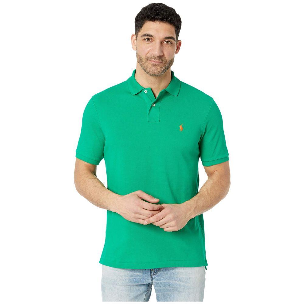 ラルフ ローレン Polo Ralph Lauren メンズ ポロシャツ トップス【Classic Fit Mesh Polo】Chroma Green