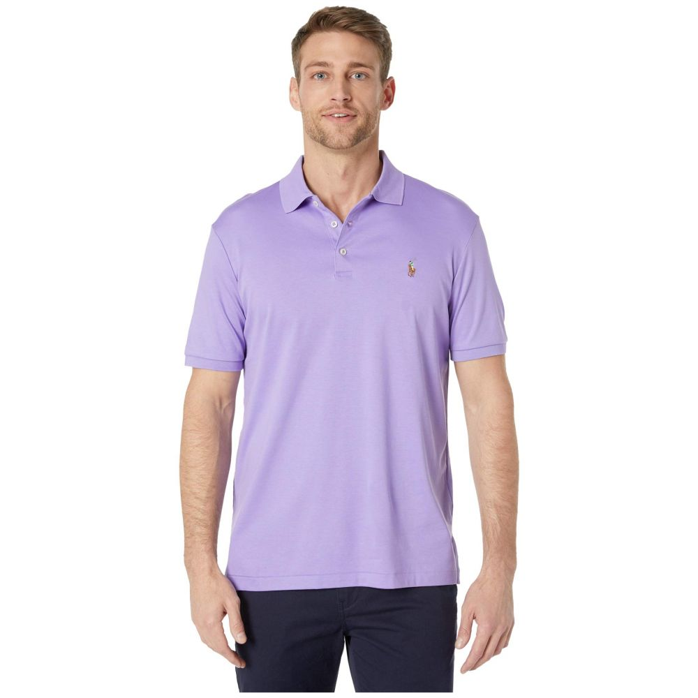 ラルフ ローレン Polo Ralph Lauren メンズ ポロシャツ トップス【Classic Fit Soft Touch Polo】Purple
