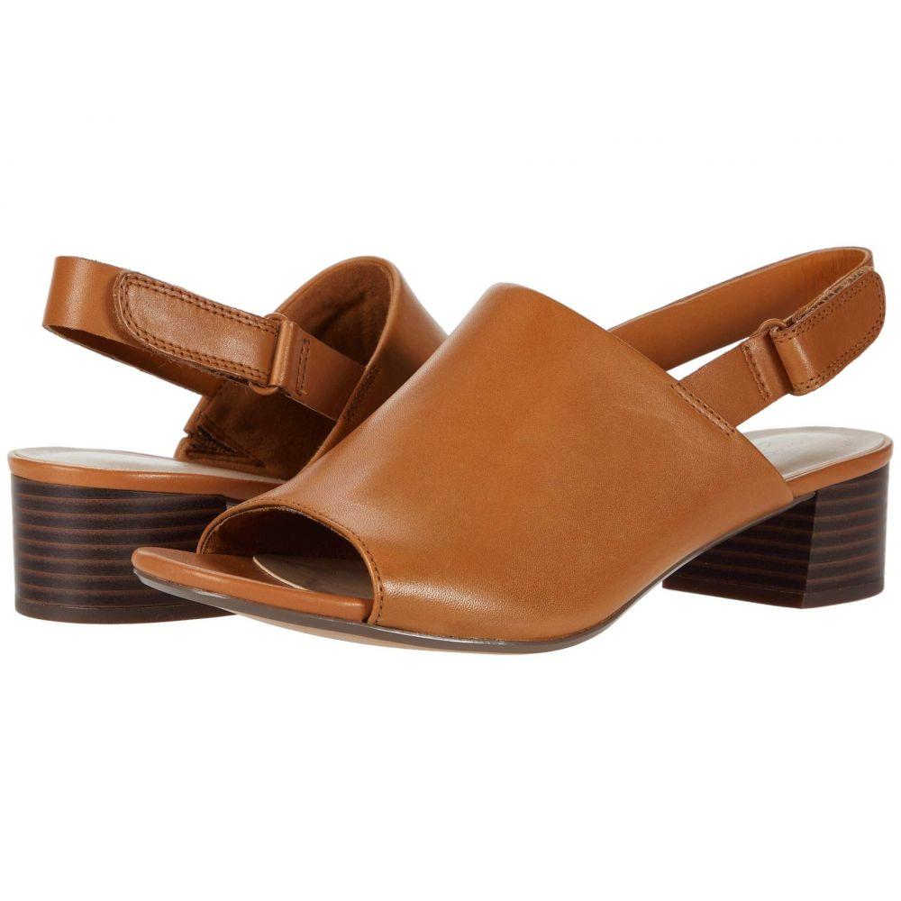 クラークス Clarks レディース サンダル・ミュール シューズ・靴【Elisa Lyndsey】Tan Leather