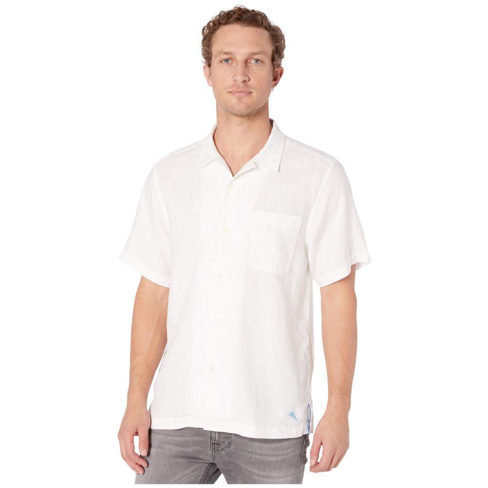 トミー バハマ Tommy Bahama メンズ シャツ トップス【Sea Glass Camp Shirt】White