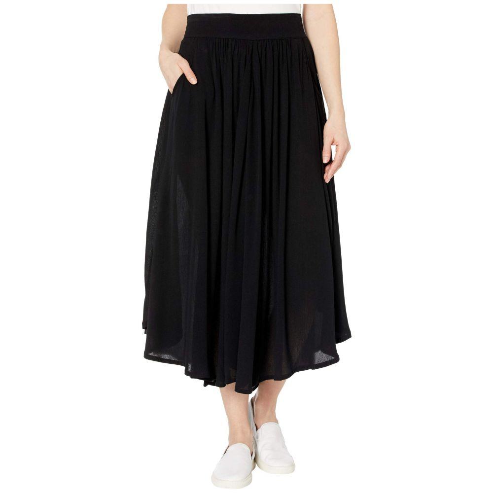 トリバル Tribal レディース ロング・マキシ丈スカート スカート【Long Circular Skirt with Pockets】Black