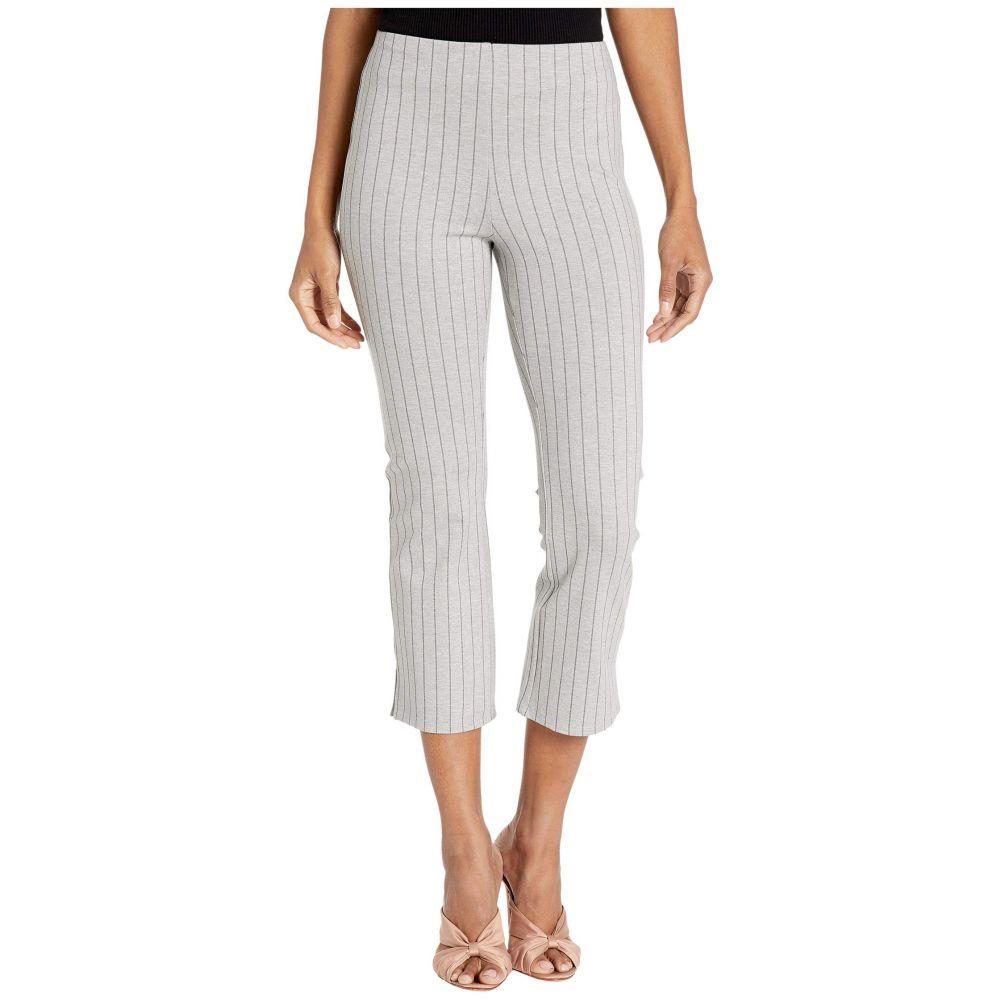 リセ Lysse レディース クロップド ボトムス・パンツ【Cropped Stripe Kick Flare Pants in Lightweight Ponte】Stripe Granite Grey