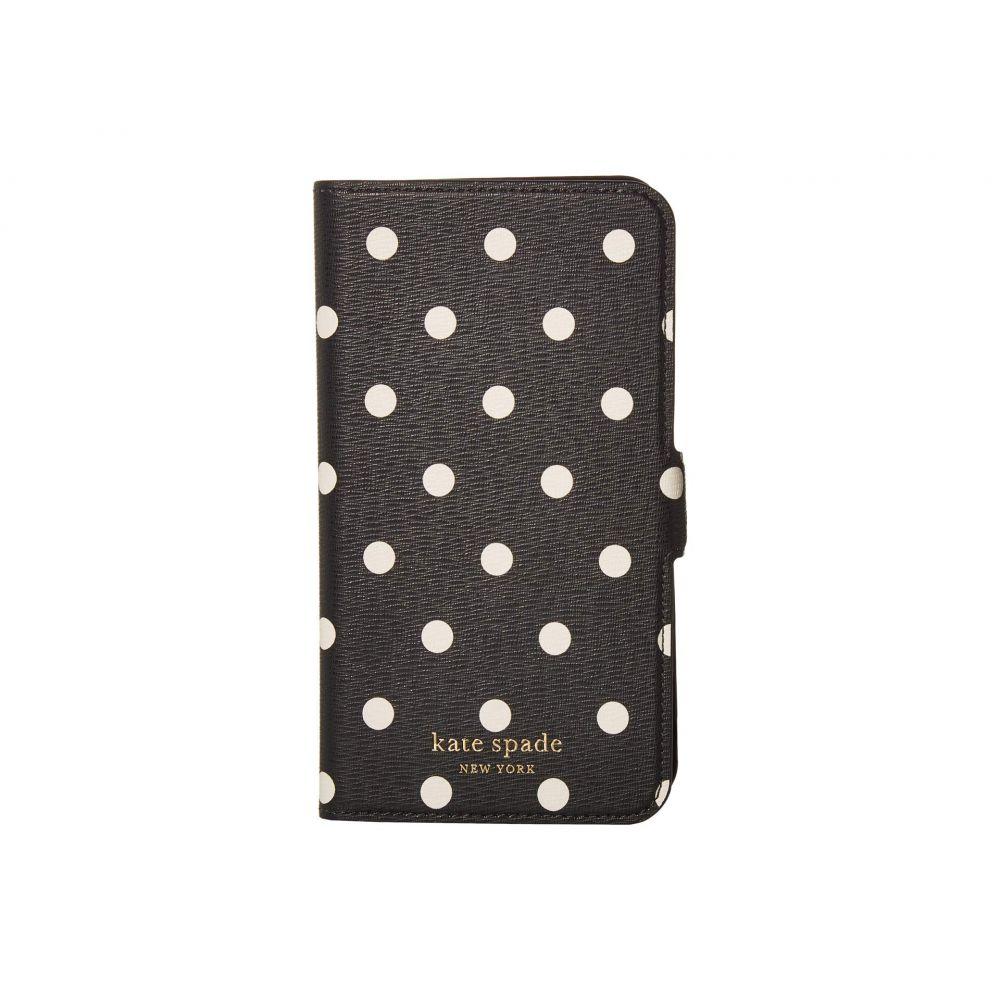 ケイト スペード Kate Spade New York レディース iPhoneケース 【Cabana Dot Magnetic Folio for iPhone 11】Black Multi