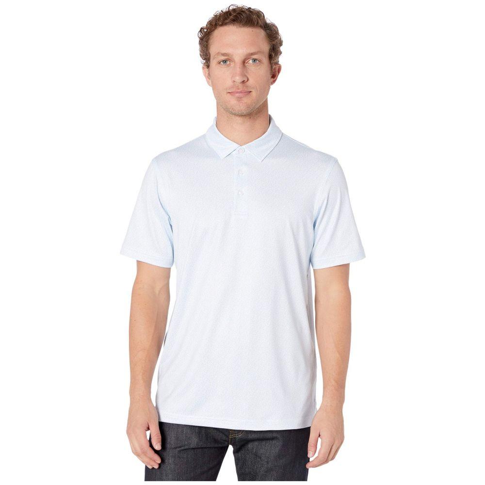 ヴィニヤードヴァインズ Vineyard Vines メンズ ポロシャツ トップス【Printed Sankaty Polo】White Cap