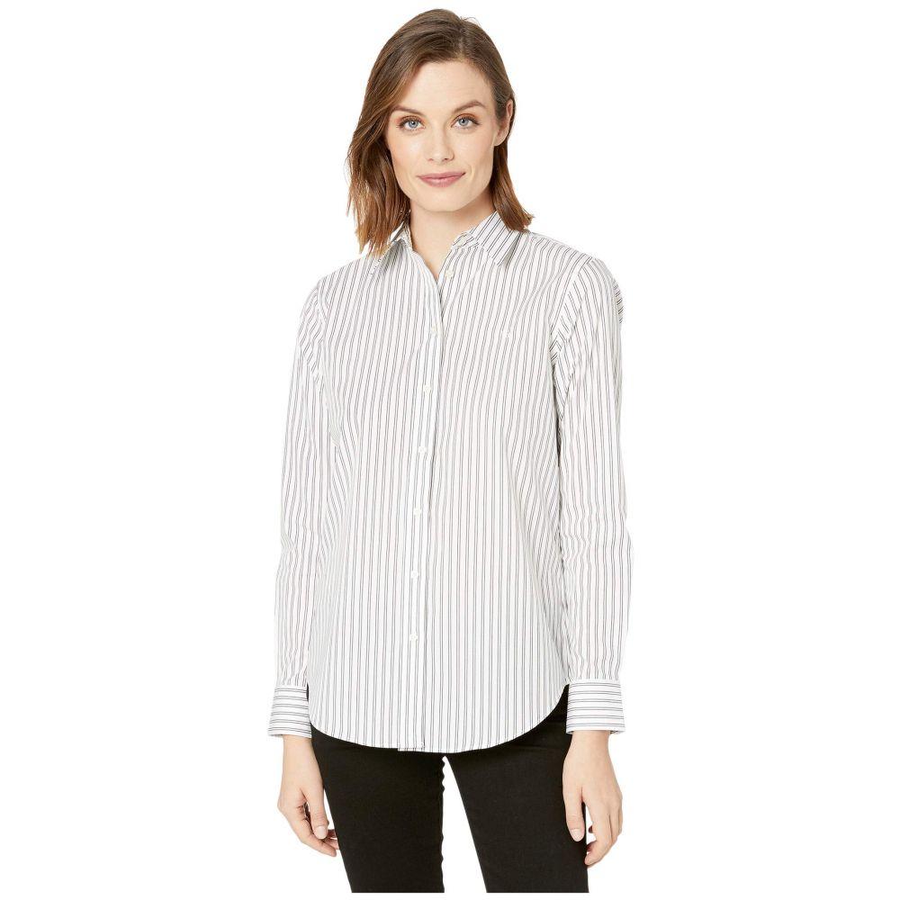 ラルフ ローレン LAUREN Ralph Lauren レディース ブラウス・シャツ トップス【Non-Iron Button-Down Shirt】White/Polo Black