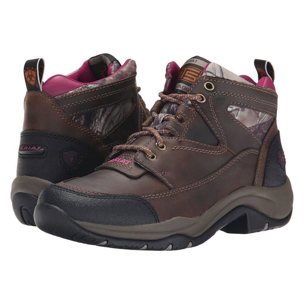 アリアト Ariat レディース ハイキング・登山 シューズ・靴【Terrain】Distressed Brown/Camo