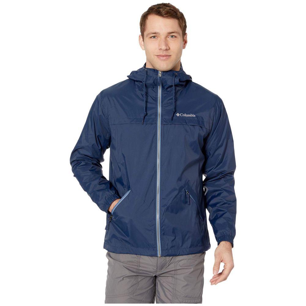 コロンビア Columbia メンズ レインコート アウター【Oroville Creek(TM) Lined Jacket】Collegiate Navy/Mountain Zip