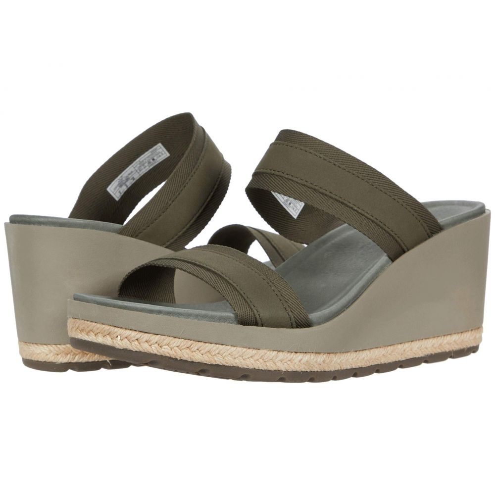 メレル Merrell レディース ヒール ウェッジソール シューズ・靴【Kaiteri Wedge Slide】Olive