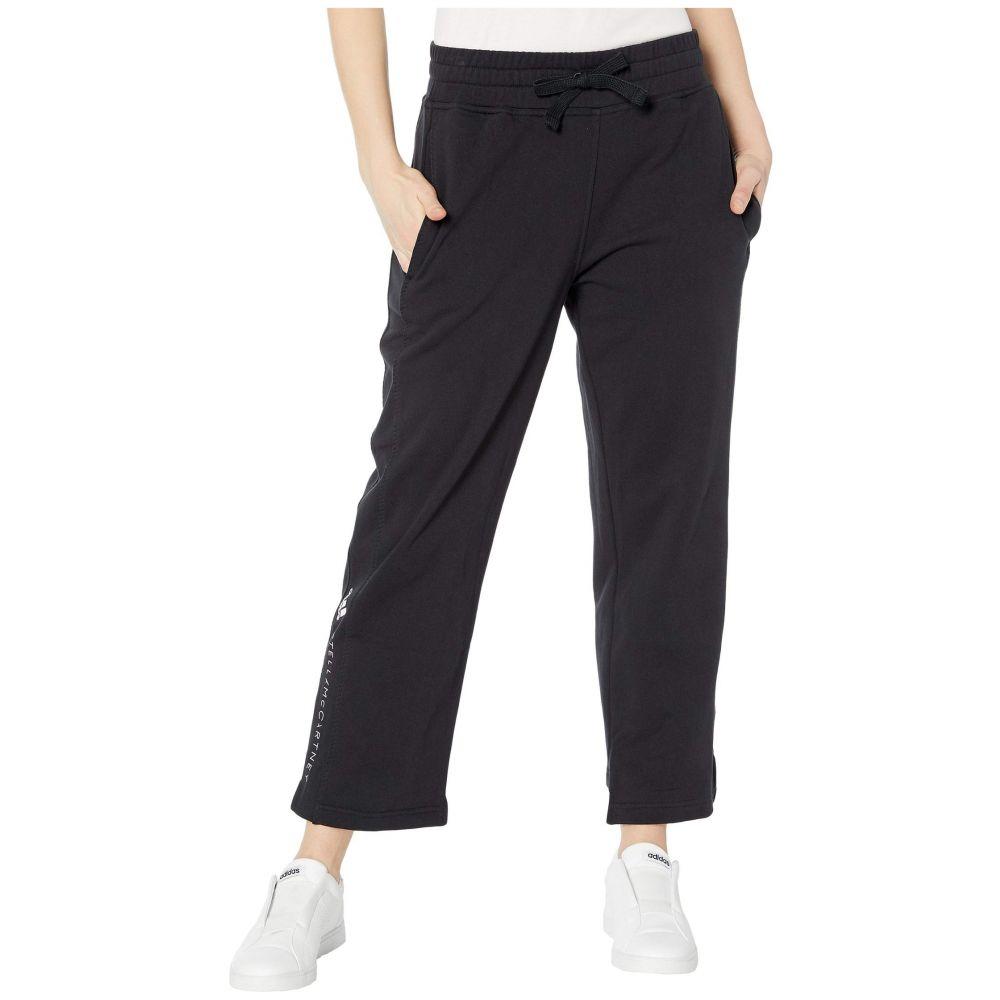 アディダス adidas by Stella McCartney レディース スウェット・ジャージ ボトムス・パンツ【Essential Sweatpants FL2848】Black