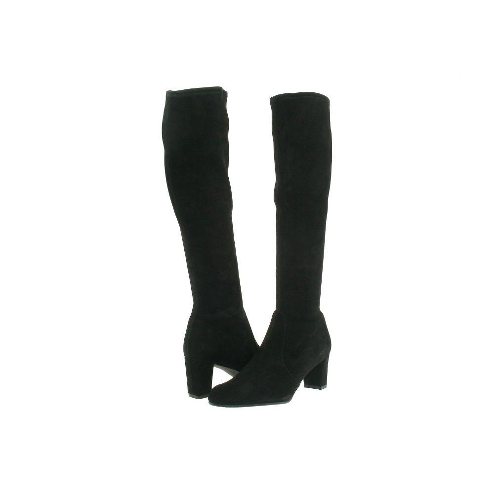 スチュアート ワイツマン Stuart Weitzman レディース ブーツ シューズ・靴【Lesley 75】Black Stretch Nappa