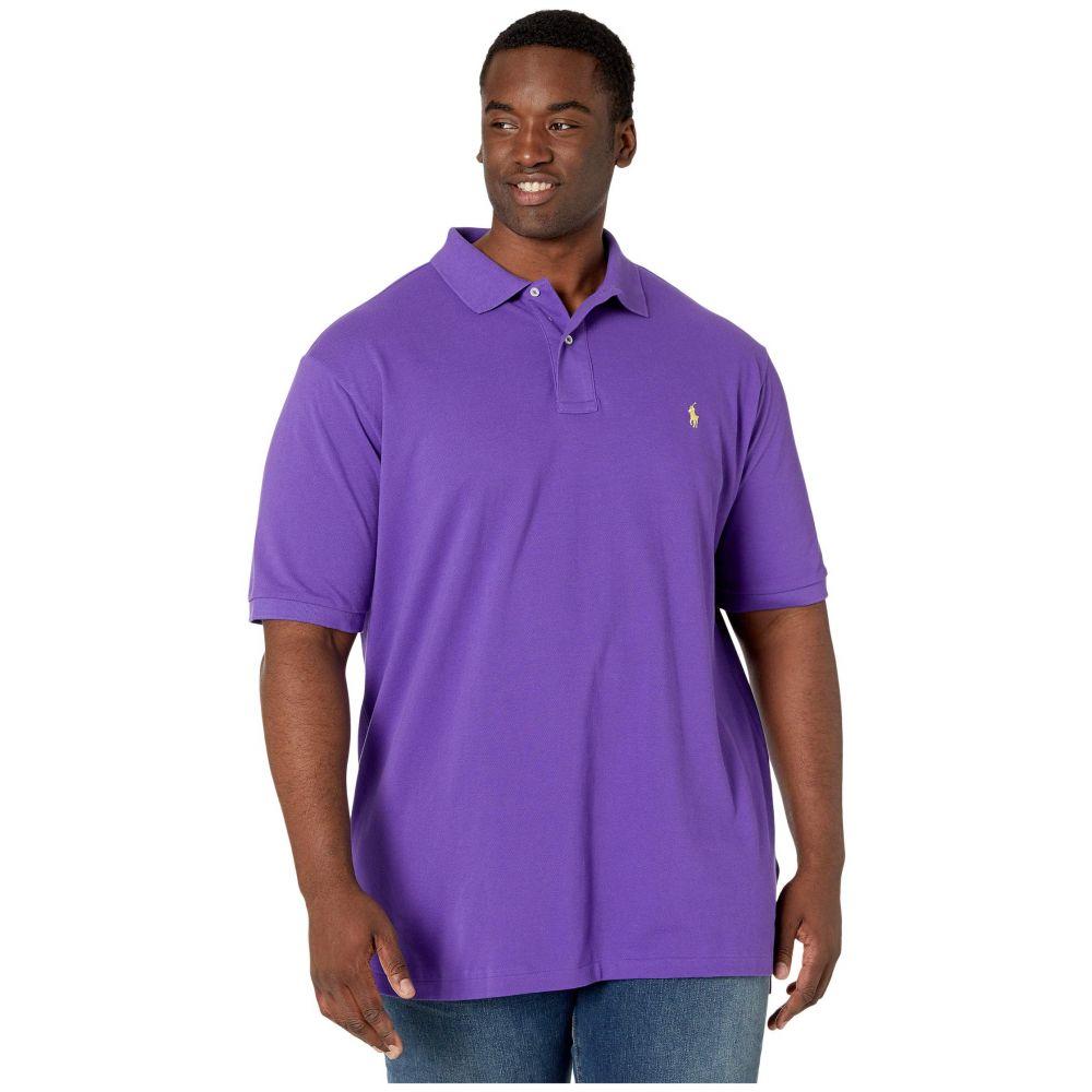 ラルフ ローレン Polo Ralph Lauren Big & Tall メンズ ポロシャツ 大きいサイズ 半袖 トップス【Big & Tall Basic Mesh Short Sleeve Classic Fit Polo】Cabana Purple