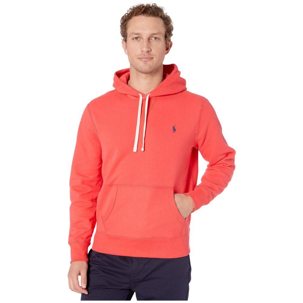 ラルフ ローレン Polo Ralph Lauren メンズ フリース トップス【Long Sleeve RL Fleece】Racing Red