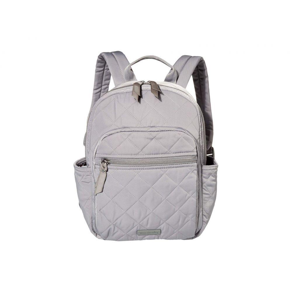 ヴェラ ブラッドリー Vera Bradley レディース バックパック・リュック バッグ【Iconic Performance Twill Small Backpack】Tranquil Gray