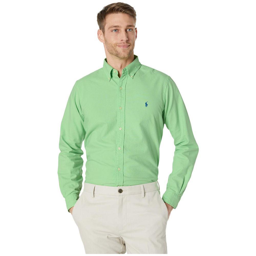 ラルフ ローレン Polo Ralph Lauren メンズ シャツ トップス【Classic Fit Long Sleeve Oxford Shirt】Green