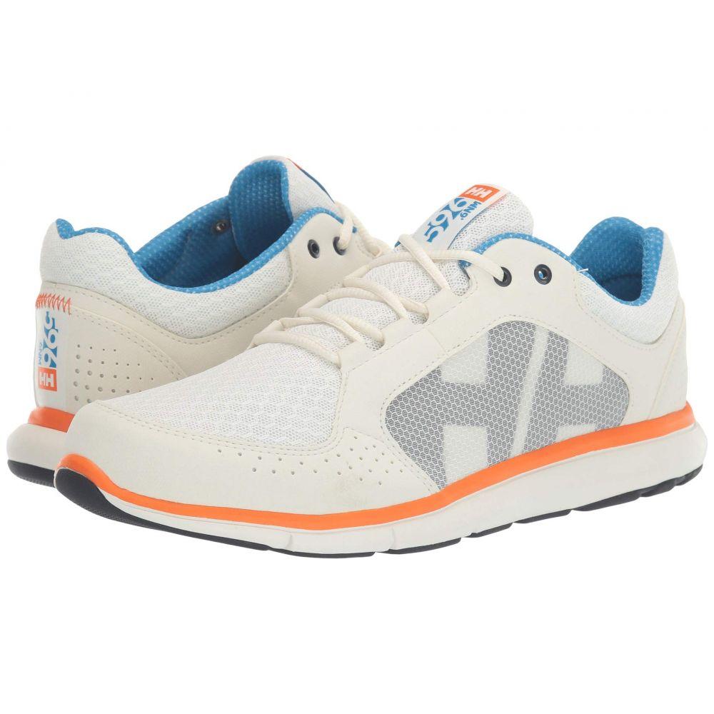 ヘリーハンセン Helly Hansen メンズ デッキシューズ シューズ・靴【Ahiga V4 Hydropower】Off-White/Racer Blue/Blaze Orange