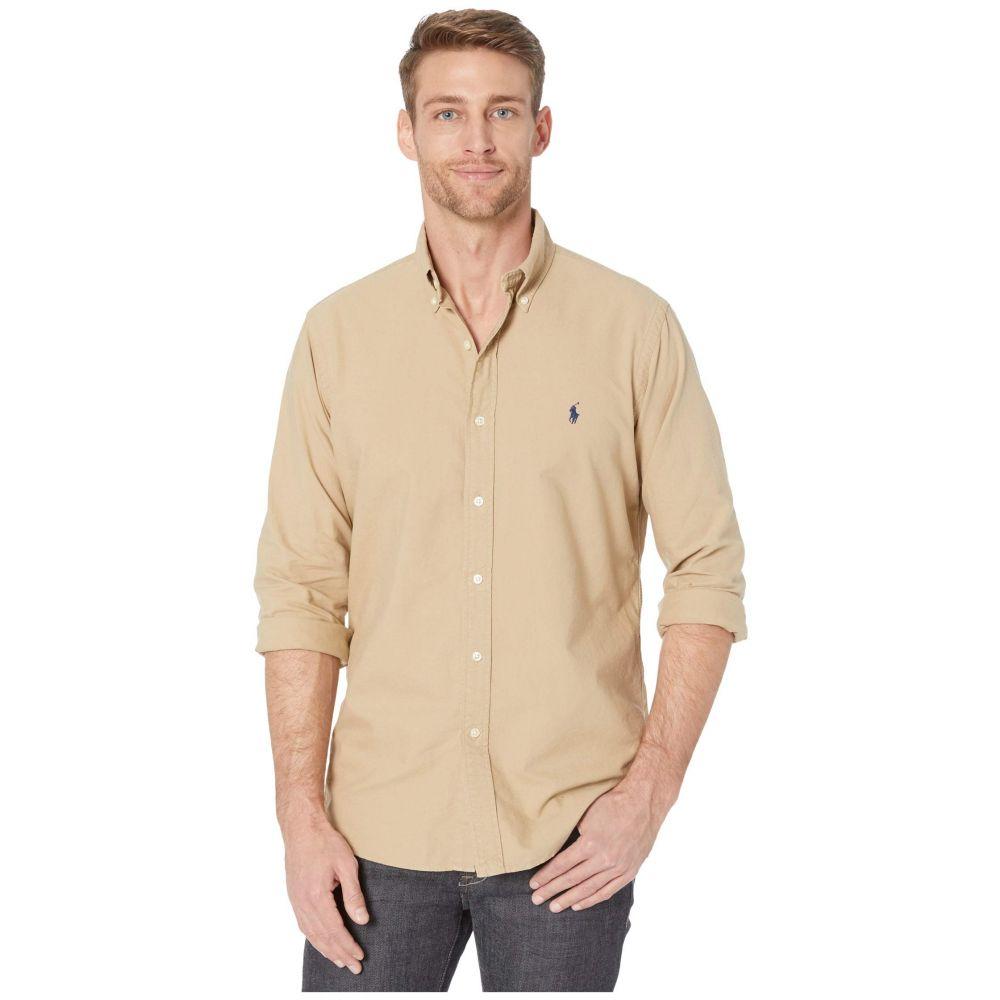 ラルフ ローレン Polo Ralph Lauren メンズ シャツ トップス【Classic Fit Oxford Shirt】Surrey Tan