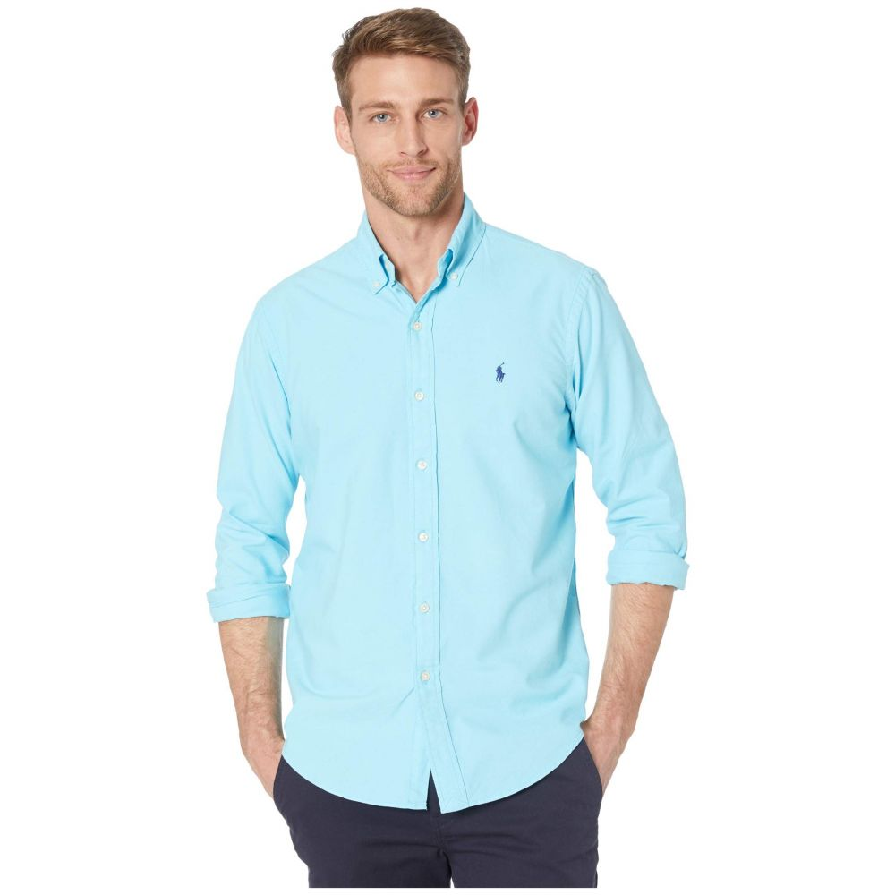 ラルフ ローレン Polo Ralph Lauren メンズ シャツ トップス【Garment Dyed Oxford Shirt】Green