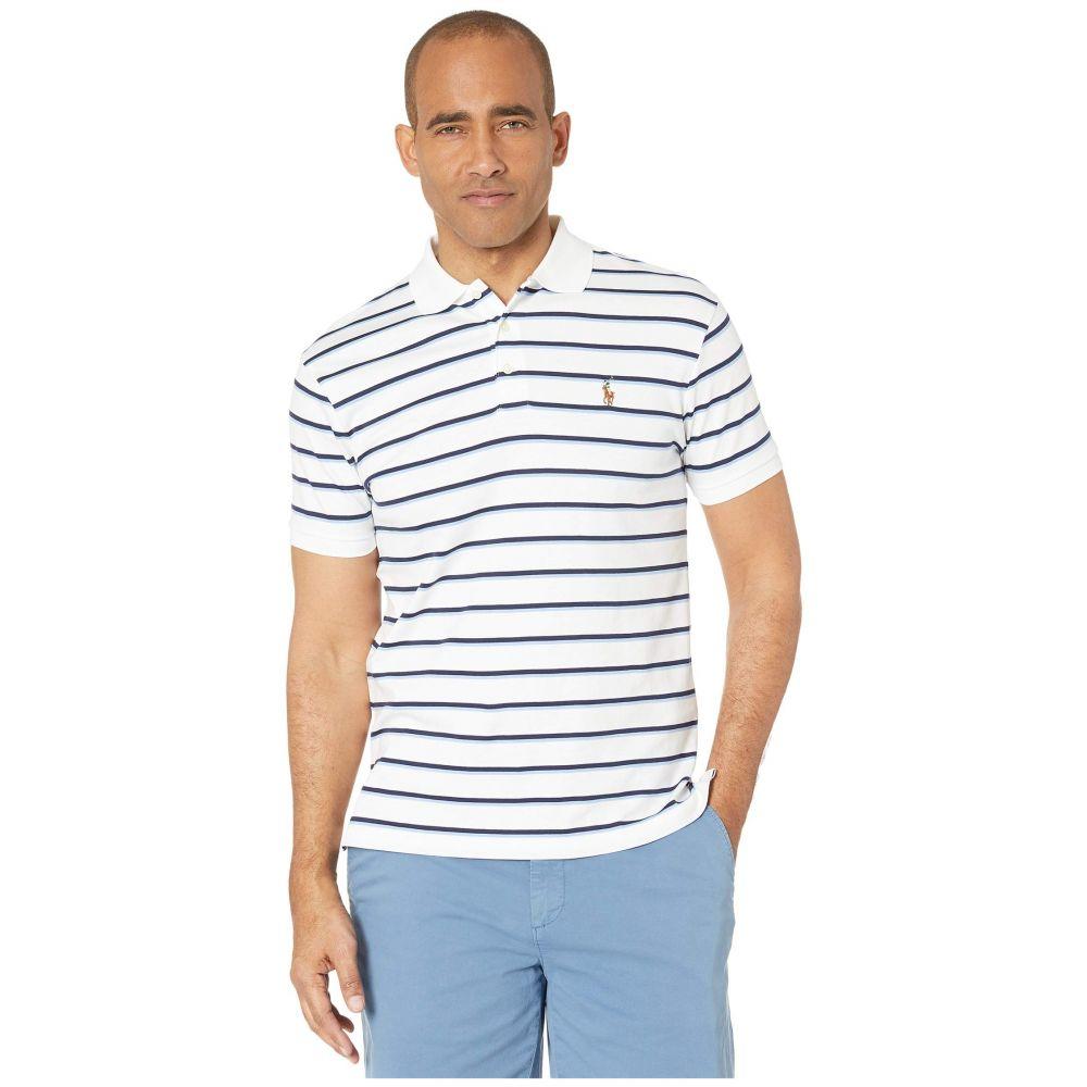 ラルフ ローレン Polo Ralph Lauren メンズ ポロシャツ トップス【Slim Fit Soft Touch Polo】White