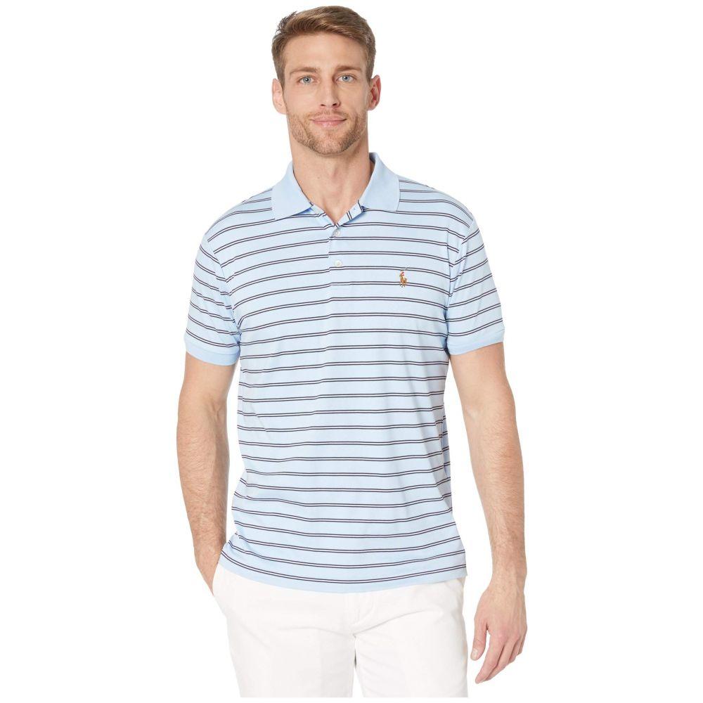 ラルフ ローレン Polo Ralph Lauren メンズ ポロシャツ トップス【Slim Fit Soft Touch Polo】Blue
