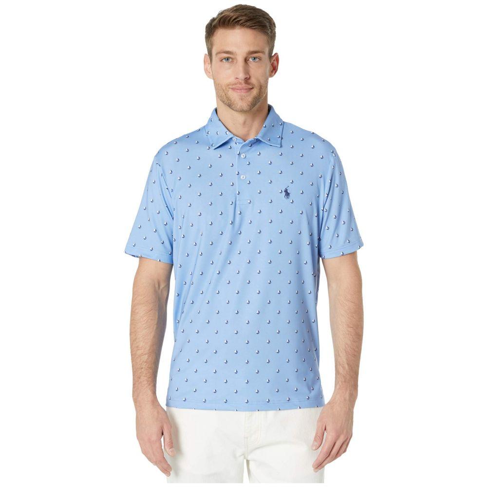 ラルフ ローレン Polo Ralph Lauren メンズ ポロシャツ トップス【Classic Fit Performance Polo】Blue Multi