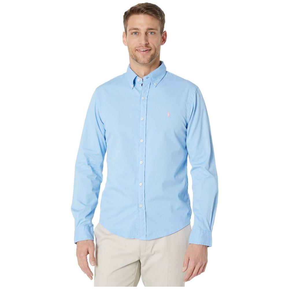 ラルフ ローレン Polo Ralph Lauren メンズ シャツ トップス【Garment Dyed Chino Shirt】Blue