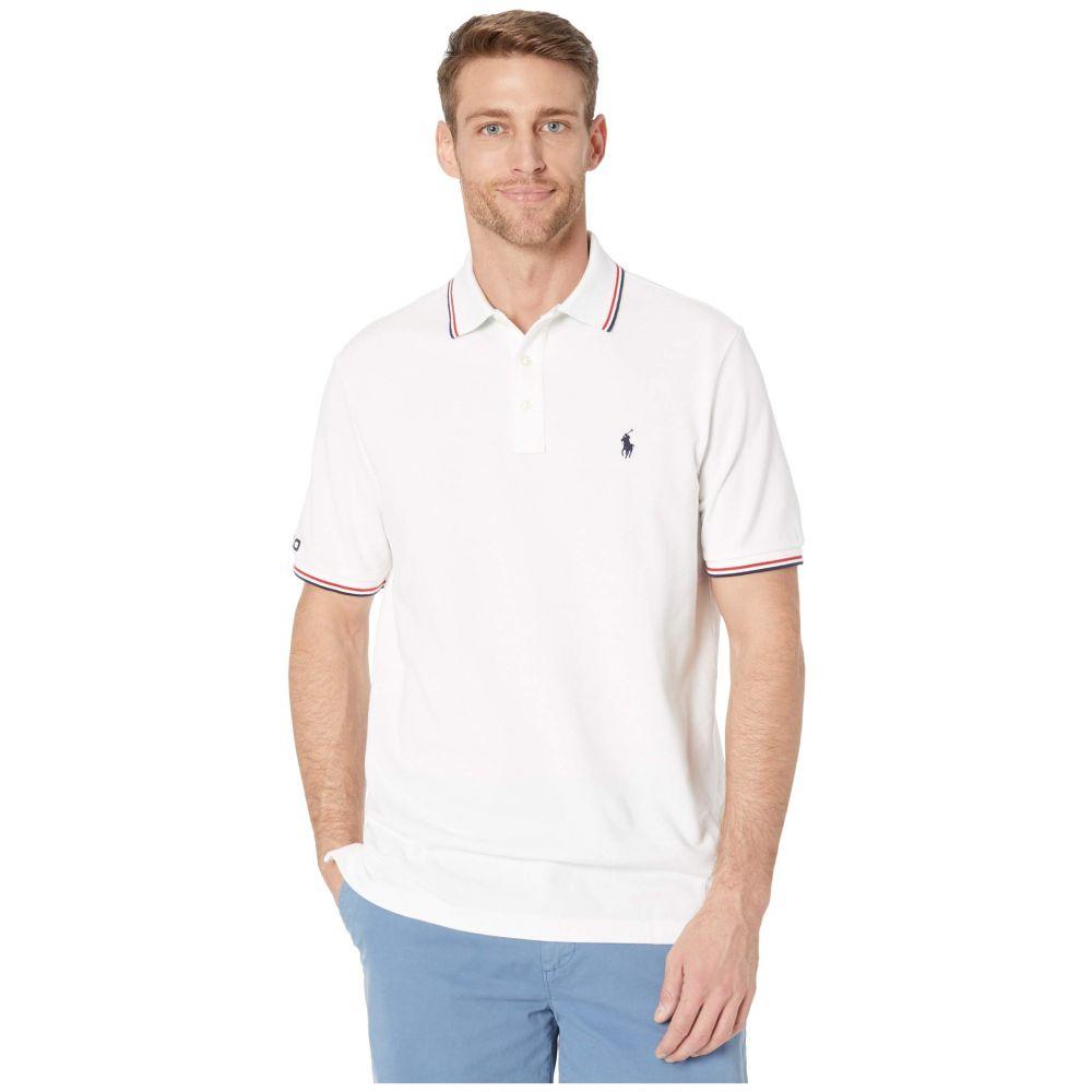 ラルフ ローレン Polo Ralph Lauren メンズ ポロシャツ トップス【Classic Fit Mesh Polo】White