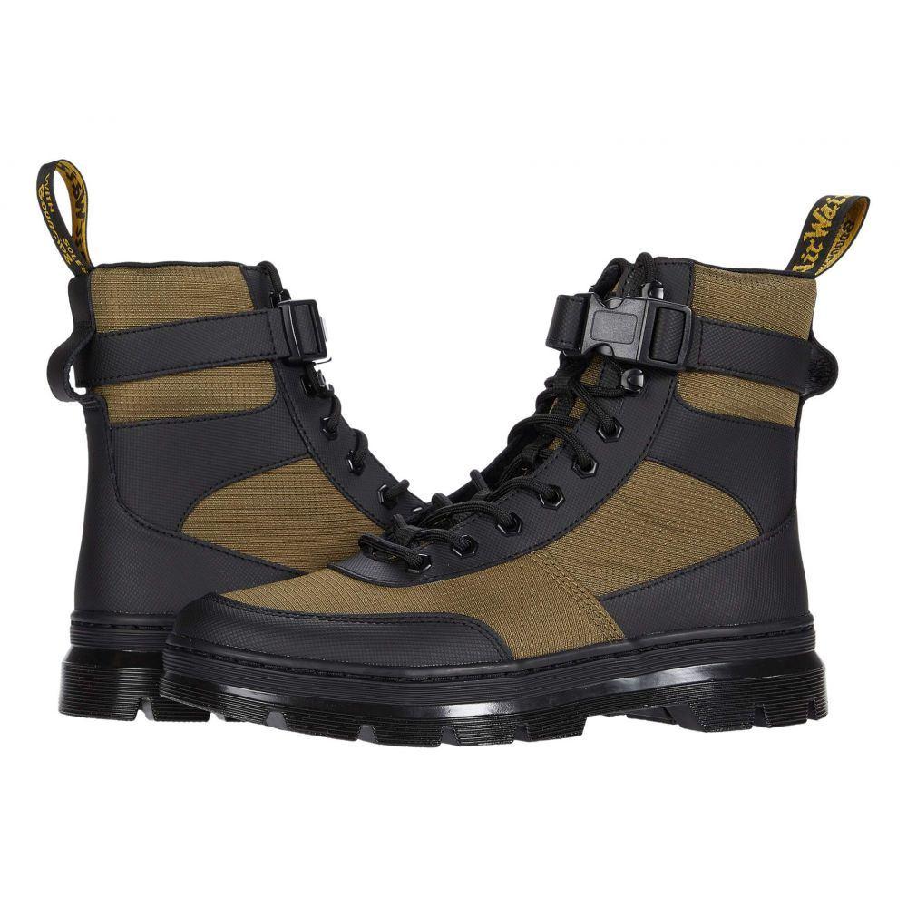 ドクターマーチン Dr. Martens レディース ブーツ シューズ・靴【Combs Tech】Black/DMS Olive
