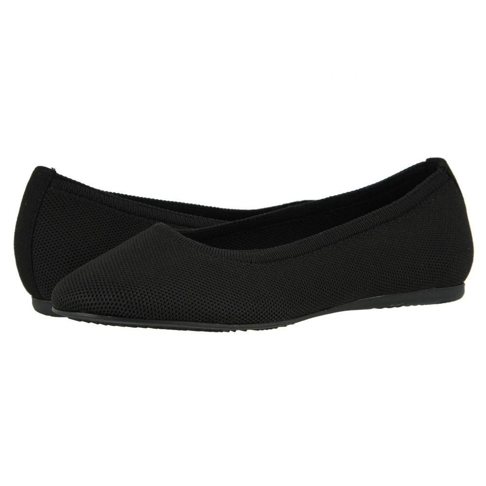 ソフトウォーク SoftWalk レディース スリッポン・フラット シューズ・靴【Sonora】Black