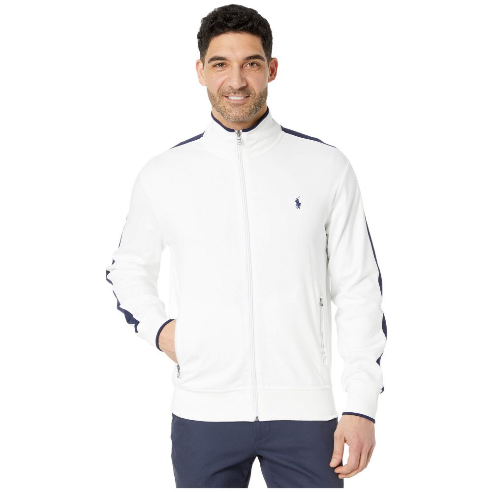 ラルフ ローレン Polo Ralph Lauren メンズ ジャージ アウター【Interlock Track Jacket】Pure White