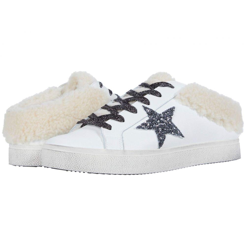 スティーブ マデン Steve Madden レディース スニーカー シューズ・靴【Polaris Sneaker Mule】White/Natural