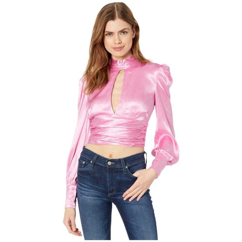 バルドー Bardot レディース ブラウス・シャツ トップス【Louise Tie Top】Vintage Pink