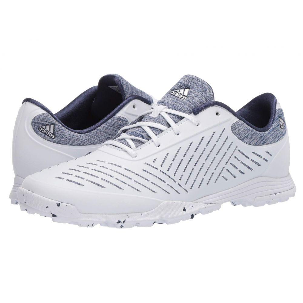 アディダス adidas Golf レディース シューズ・靴 【Adipure Sport 2.0】Footwear White/Silver Metallic/Tech Indigo