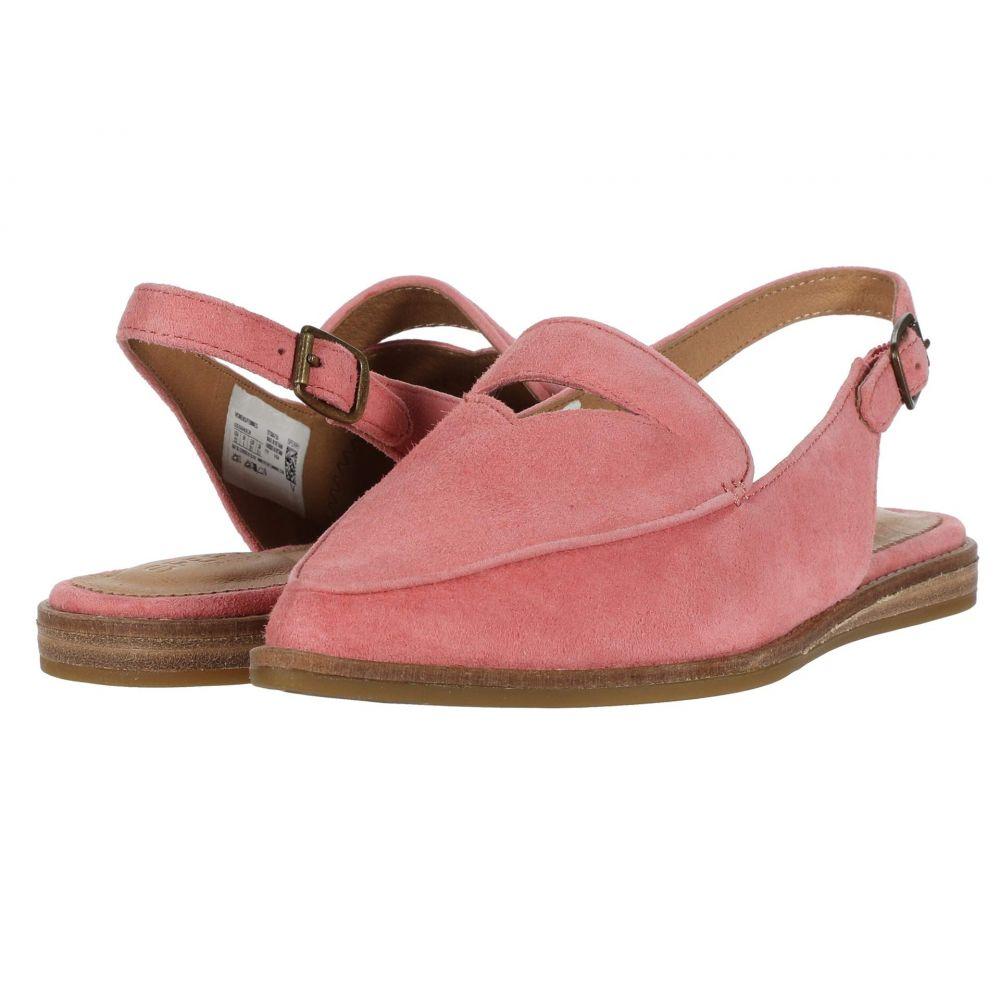 スペリー Sperry レディース スリッポン・フラット シューズ・靴【Saybrook Slingback Suede】Coral Pink