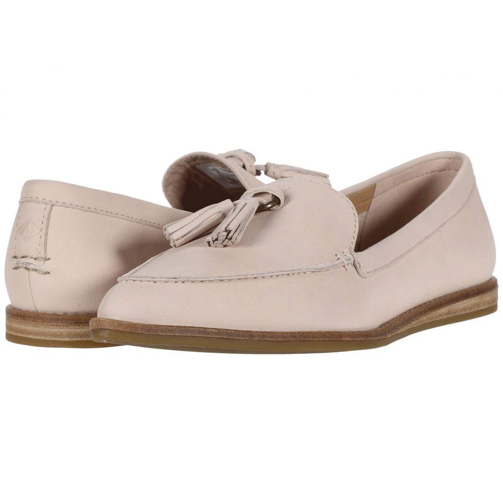 スペリー Sperry レディース スリッポン・フラット シューズ・靴【Saybrook Slip-On Leather】Rose Dust