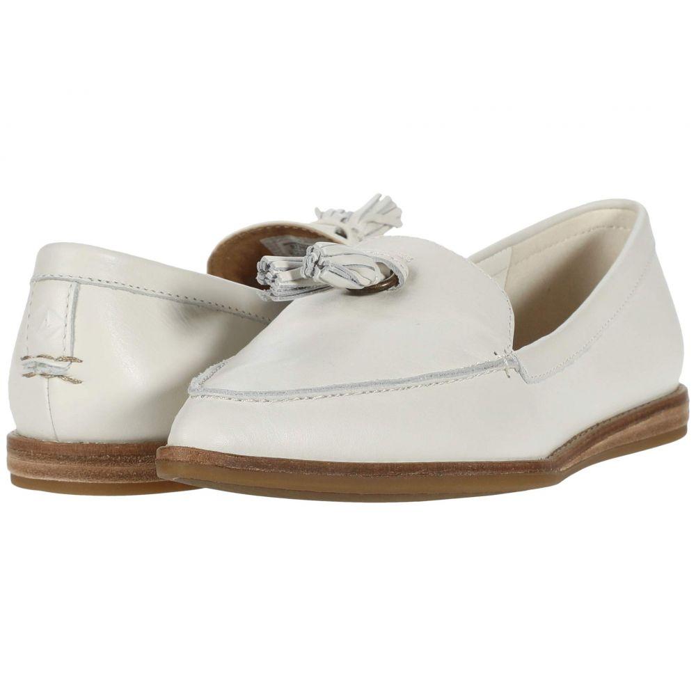 スペリー Sperry レディース スリッポン・フラット シューズ・靴【Saybrook Slip-On Leather】Ivory