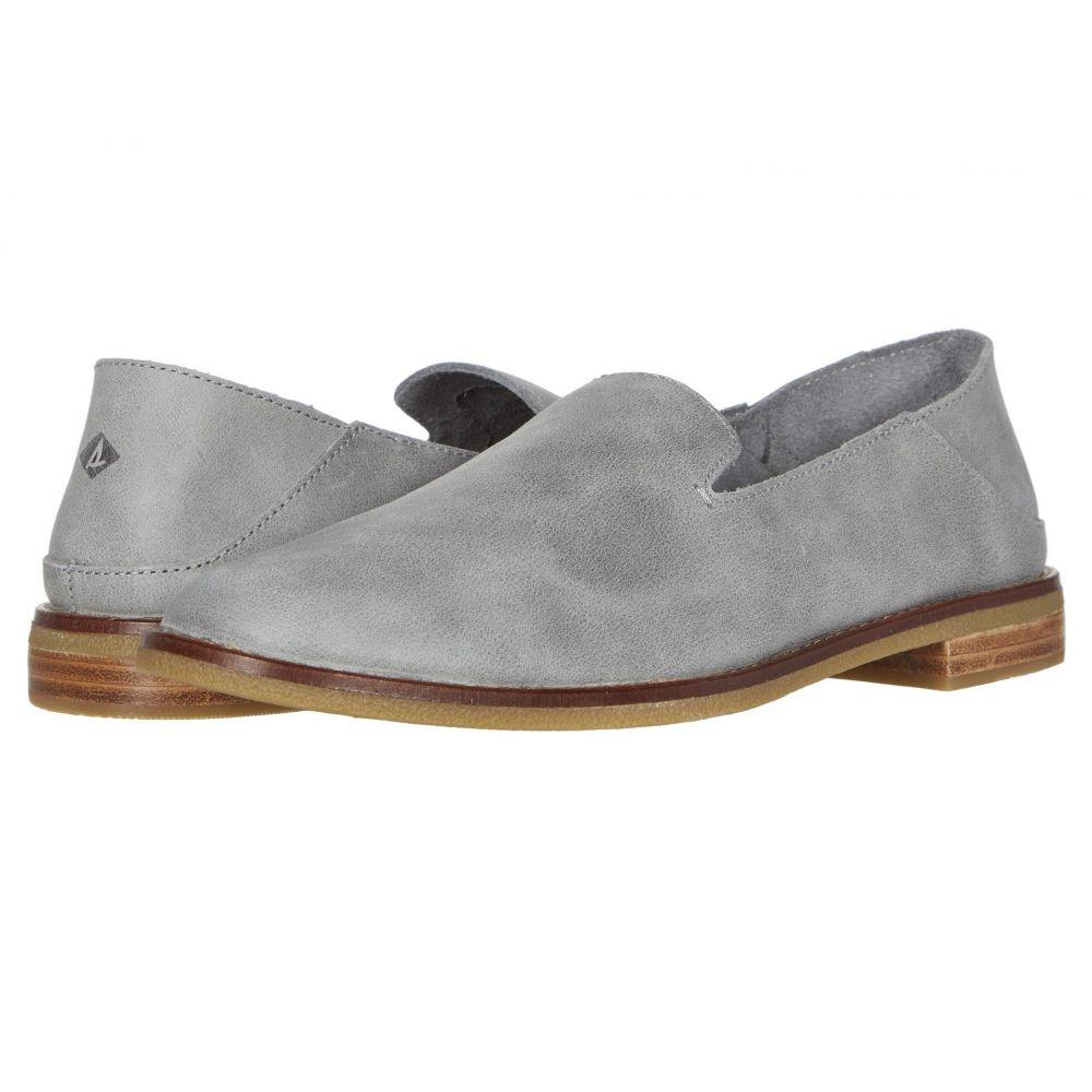 スペリー Sperry レディース ローファー・オックスフォード シューズ・靴【Seaport Levy Smooth Leather】Grey
